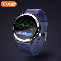Vwar B65 Sport Smart Watch ECG+PPG Band Blood Pressure Heart Rate Monitor Multi Sport Mode Fitness Bracelet Waterproof Smartband