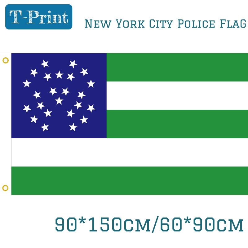 Usa new york city police department flag 90 150cm 60 90cm - Garden city police department ny ...