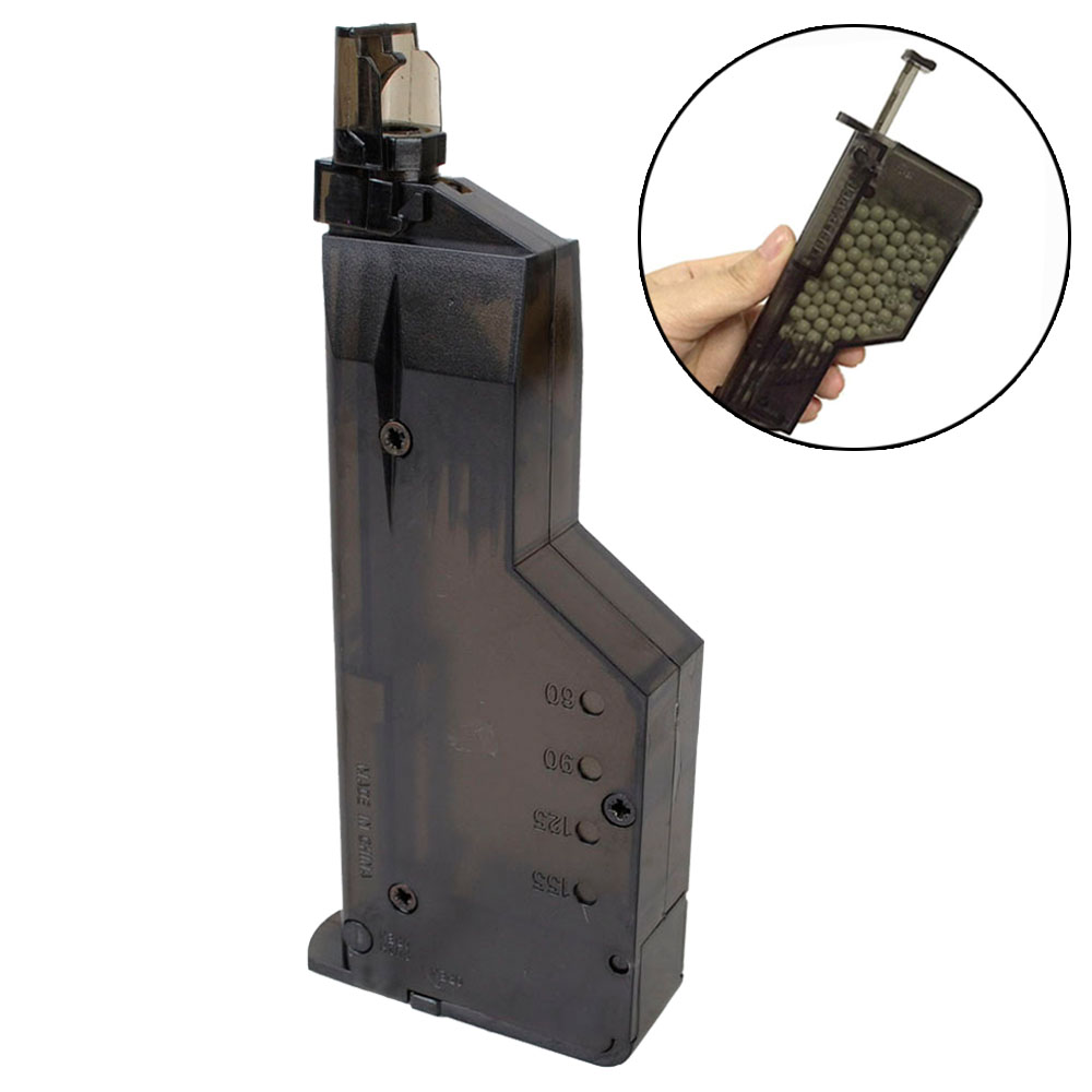 Airsoft Paintball 155 Round BB Speedloader BB Loader Hunting Magazine Quick Loader 6MM For Shooting Games
