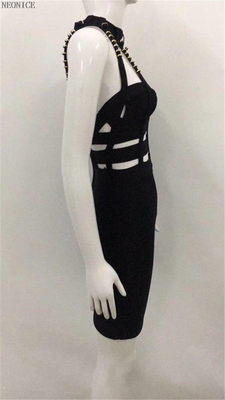 44e9457d57 Évider Serré Élastique Boîte Hip 2018 Nouvelle Paquet Fête D'anniversaire  Noir De Bandage Sexy Perlé Femme Nuit Robe Socialite Mode Loisirs 6ybYf7g