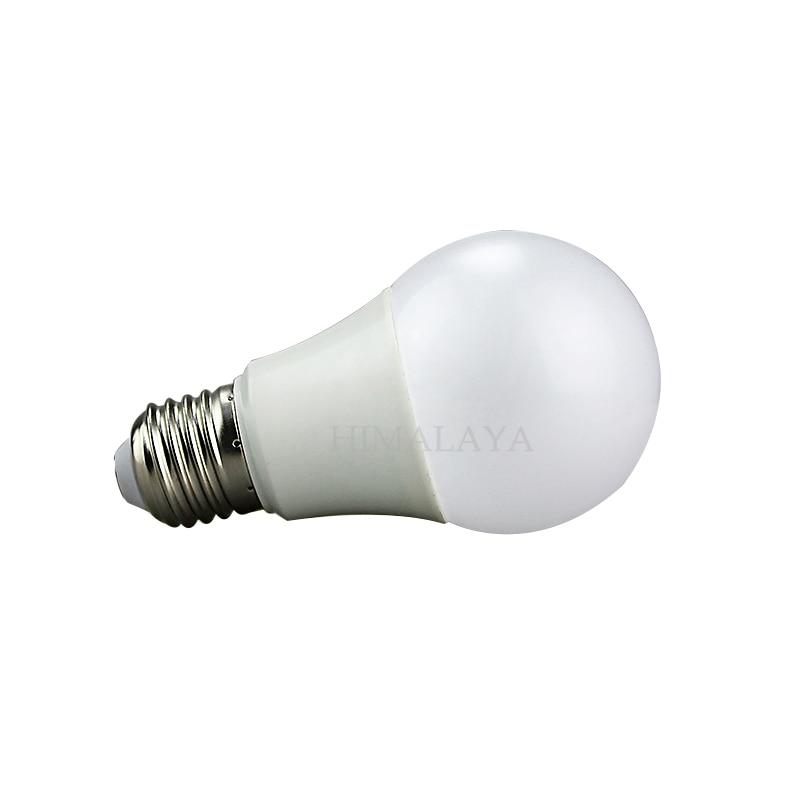 Toika 50pcs/lot LED bulb  High brightness E27 3W,5W,7W,9W,12W,15W 2835SMD Cold white/warm white AC220V 230V 240V toika 2pcs lot 80w100w120w e27 base aluminum corn light high power led bulb outdoor smd5730 waterproof using