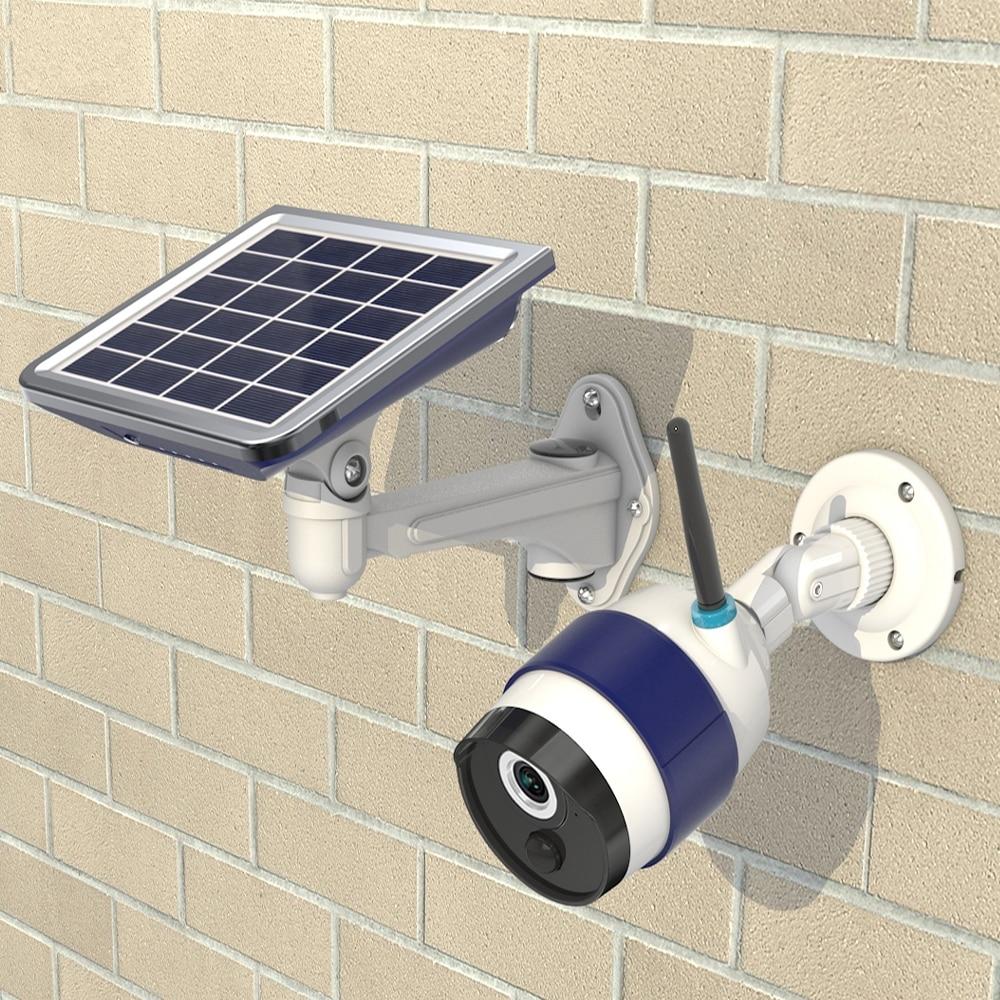 (1 satz) 720 p solar mobile wifi pir kamera mit infrarot led für - Schutz und Sicherheit - Foto 5