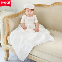 IYEAL Newborn Baby Boy Clothes Set Birthday Christening Cloth Infant Toddler Boys Formal Wedding Clothes Suit for Baptism 0 12M