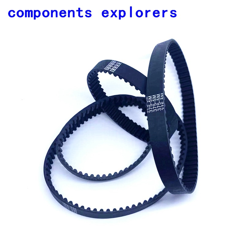 <font><b>HTD5M</b></font> Timing Belt, 465 470 475 500 505 length,12mm width,Closed-loop, Endless, 1pcs/lot image