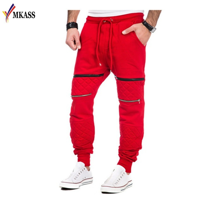 New GYMS Men Pants Compress Gymming Leggings Men Fitness Workout Sporting Fitness Male Breathable Long Pants M-3XL