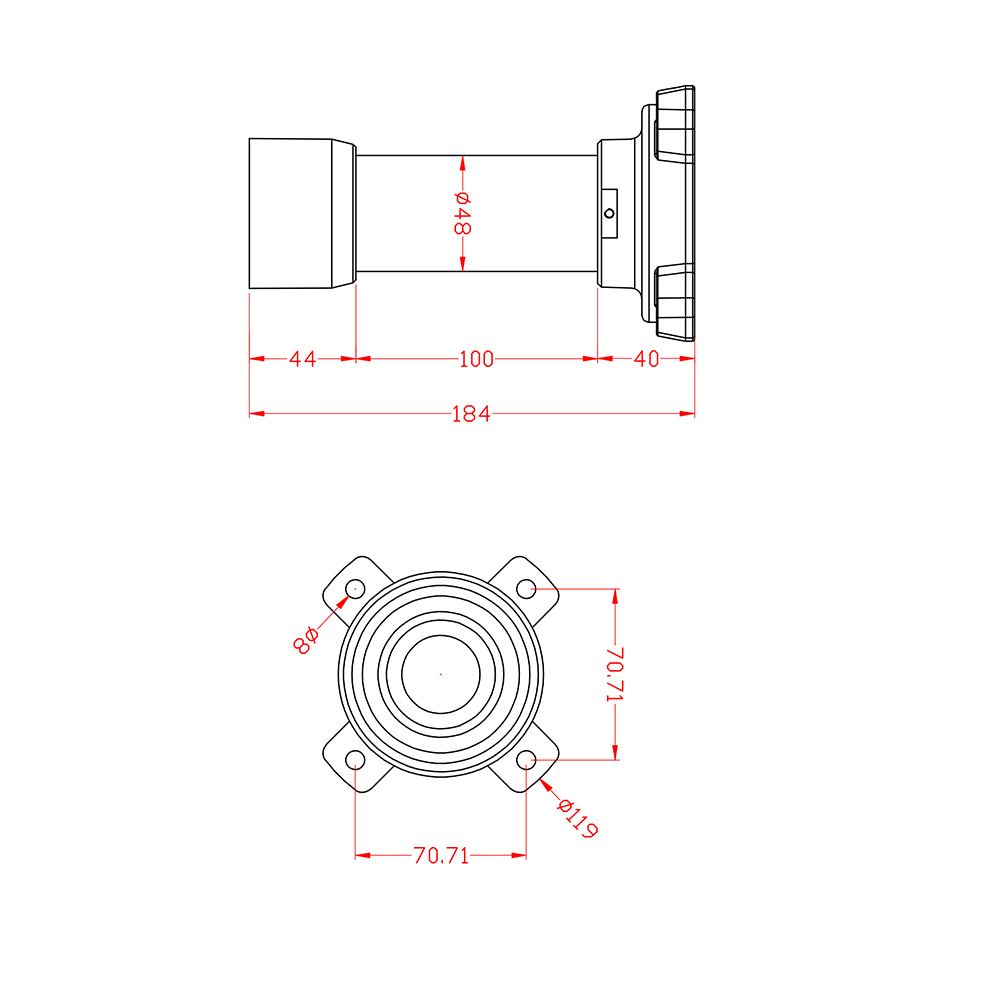 Ses Onvif, IR Lazer 300M, 4MP 2304x1296 @ 30fps, 20X Optik, H.265 / - Güvenlik ve Koruma - Fotoğraf 6