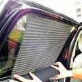 Extendable Car Window Sunshade Curtain Side Window Mesh Visor Shield Car Window Sun Solar UV Protection Pleated Curtains 3 Color
