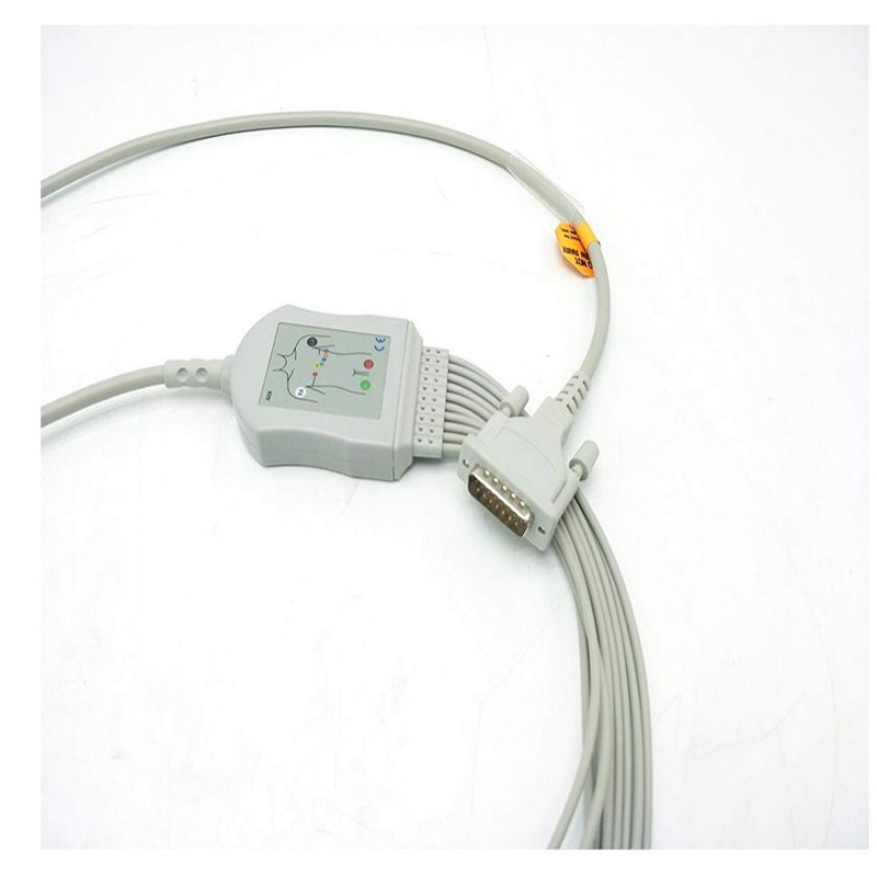 Compatible For Schiller AT1/ AT2 /CS6/ CS100/AT101 ECG EKG Cable with leadwires 10 leads Clip End IEC 10K Compatible For Schiller AT1/ AT2 /CS6/ CS100/AT101 ECG EKG Cable with leadwires 10 leads Clip End IEC 10K