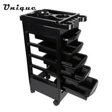 Professional Hairdressing Tool Salon Hairdresser Trolley Barber Storage Hair Rolling Cart Hair Salon Tool(China)