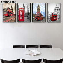 Großhandel London Bus Poster Gallery Billig Kaufen London Bus