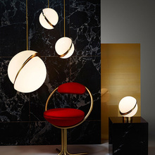 Jaxlong Designer Modern Glass Lamps Living Room Bedroom Bedside Acrylic Pendant Light Restaurant  Clothing Shop Bar Lighting цена