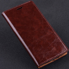 5 Color, Natural Top Genuine Leather Flip Stand Cover Case For Huawei Ascend Mate 8 Mate8 Luxury Mobile Phone Bag