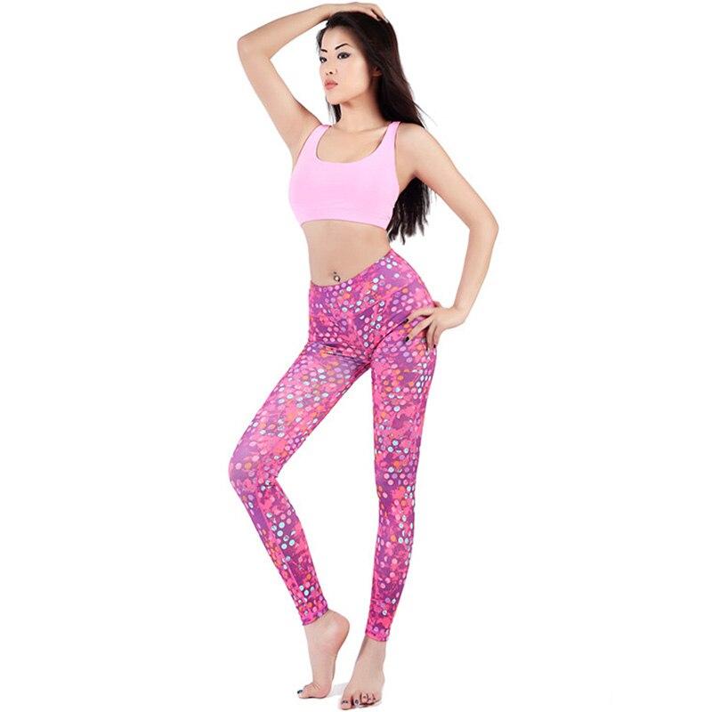 Nowe Damskie Wygodne Elastyczne Dopasowane Przerywane Spodnie Sexy - Ubrania sportowe i akcesoria - Zdjęcie 4