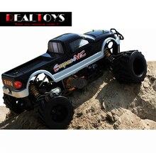 FS Racing 1/4 escala 4X4 35CC GAS coche de control remoto Monster truck RC con el transmisor RTR Envío Libre