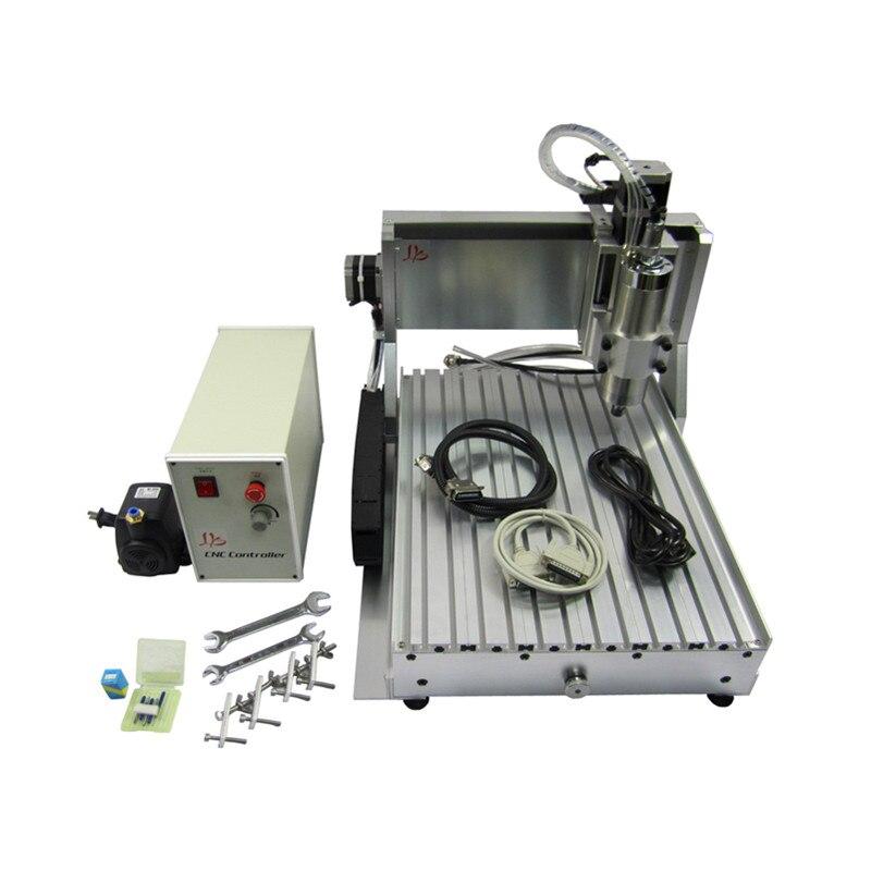 Router di CNC 3040 2200 w 3 4 Assi di Legno del Metallo Macchina Per Incidere di Taglio con USB porta LPT