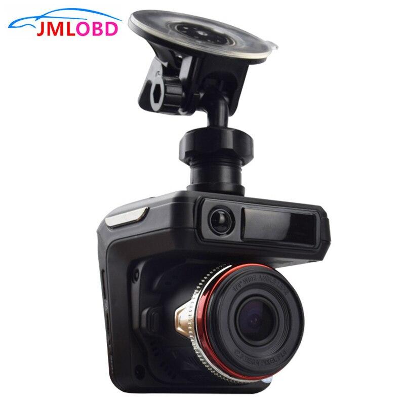 2 en 1 360 degrés détecteur de Radar de voiture DVR système d'alarme vocale de véhicule caméra de tableau de bord détection de Radar automatique enregistreurs Laser à bande complète