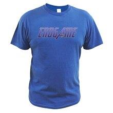 Avengers Endgame T Shirt Marvel Superhero Sign Printed EU Size 100% Cotton Tops Clothing  Homme Casual Short Sleeve Tees