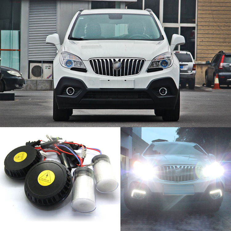Ownsun New Generation All In One Lower Beam Error Free H7 HID Lights For Buick Encore