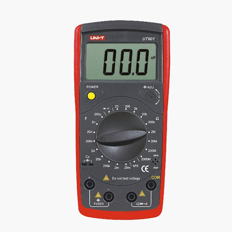 UNI T UT603 Modern Resistance Inductance Capacitance Meters Testers LCR Meter Capacitors Ohmmeter w/hFE Test
