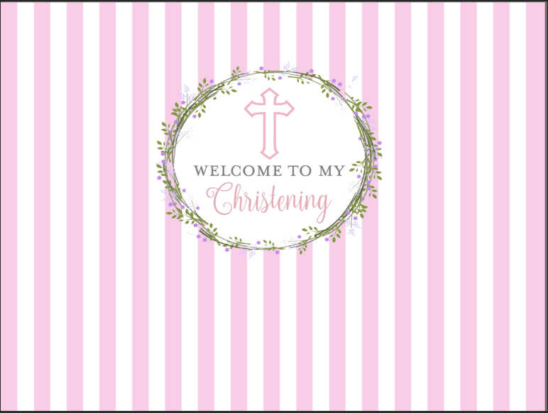 7x5ft//2.1x1.5m New Vinyl Princess Backdrop Girls Birthday Party Banner Decor Shooting Props BJZYST475 Pink Dot Black and White Stripe Photography Background