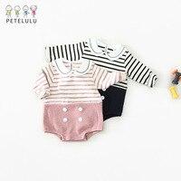 פסים גוף Bebe בגד גוף לבגדי תינוק בן יומו מצחיק תינוק בגד גוף לתינוק בגדים תינוקות פעוט סרבל ילדה תלבושות