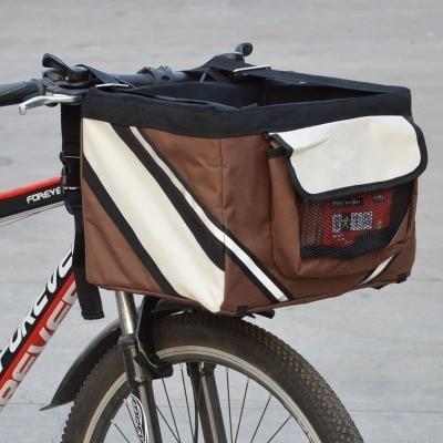 Съемная сумка для перевозки питомцев, велосипедная корзина для собак, кошек, маленькие домашние животные, аксессуары для путешествий, сиден...