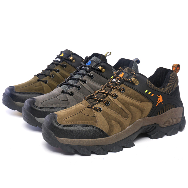 New Design Man Non Slip Climbing Sneakers Men Shoes High Quality Mountain Athletic Hiking Shoes for man trekking shoes