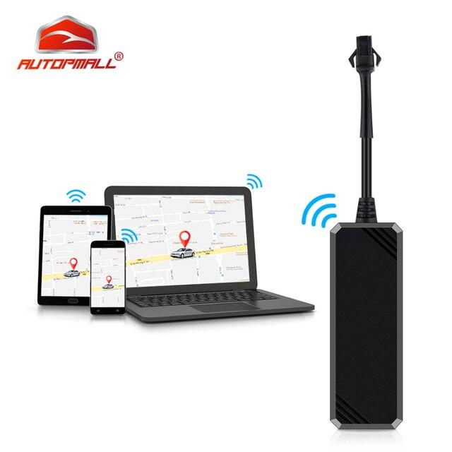 Mini GPS Tracker Car GPS Tracker Waterproof IP65 Google Maps Real time Track Shock Cut Line Alarm GPS Locator Geo fence Free APP