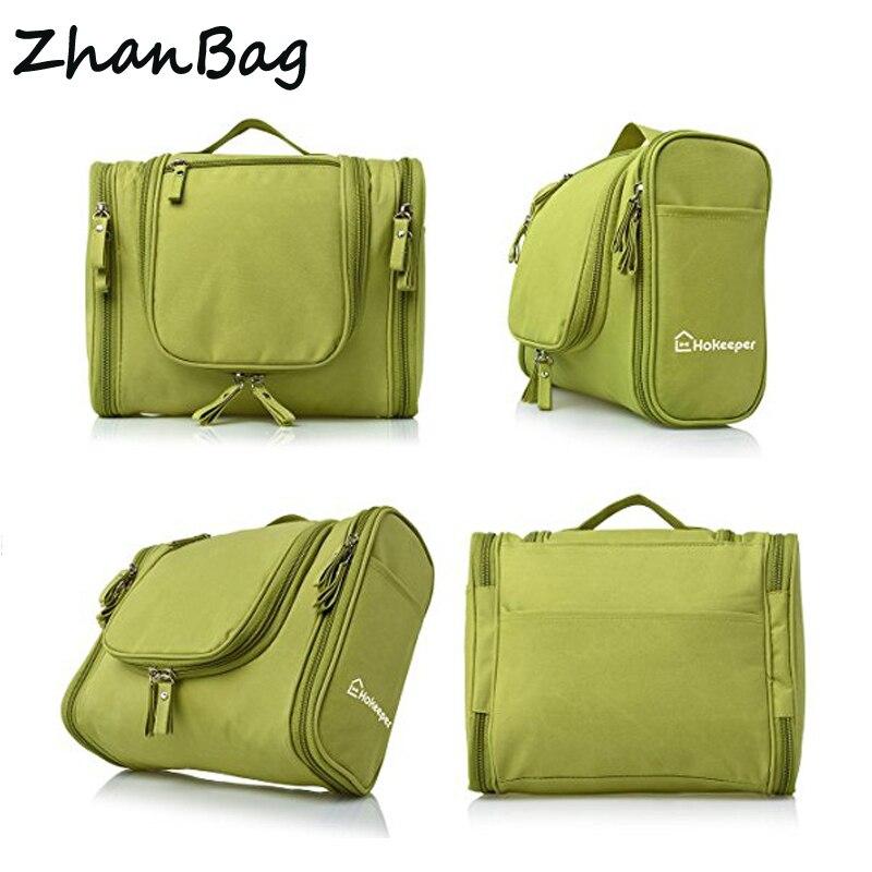 Hot Sell Waterproof Hanging Cosmetic Bag-Travel Cosmetic Makeup Bag for Women & Shaving Toiletry Kit Organizer Bag for Men цена