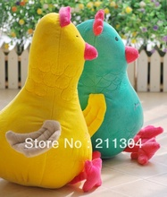 Free shipping 1piece cute cock or hen plush toys best price high quality,birthday gift stuffed toy,soft animal for children kids