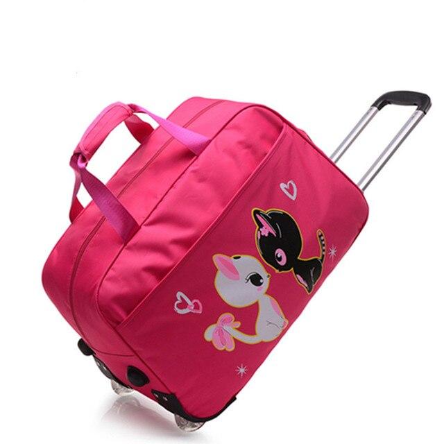 Сумка сумка тележка багаж сумку большой емкости короткое расстояние путешествия складной мешок и чемодан портативный отдых прекрасный