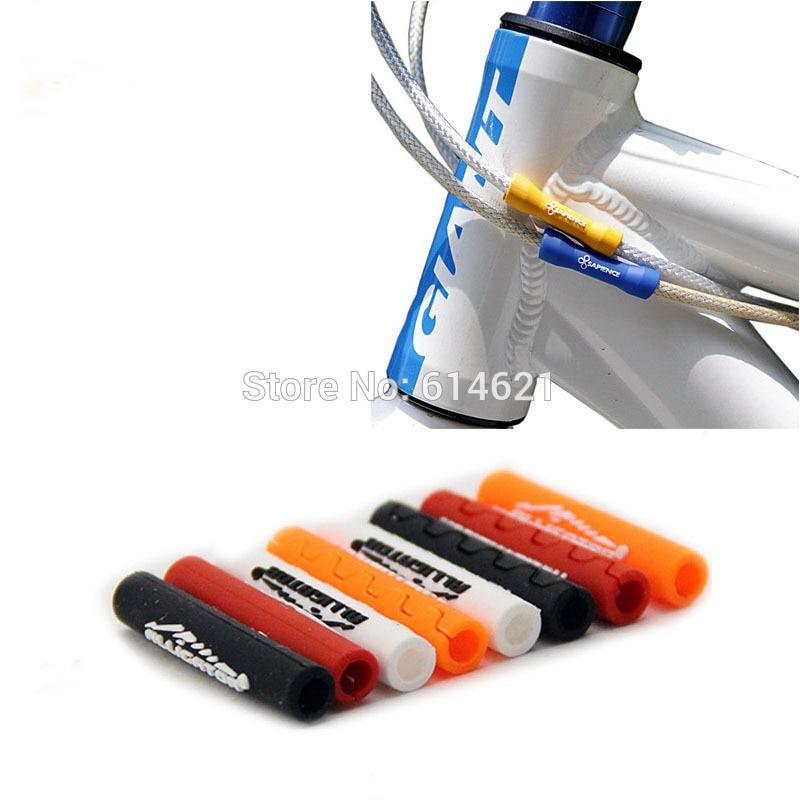 10 шт. jagwire Велосипедный тормозной трос, защитный рукав, корпус трубы, переключатель передач, протектор кабеля, защитный корпус для велосипед...