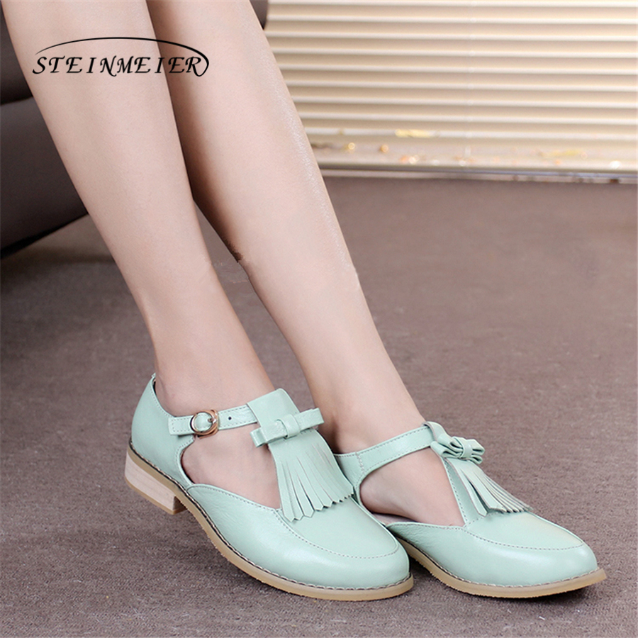 Women genuine Leather oxford Sandals tassel shoes women handmade 5cm vintage round Toe British style oxford summer shoes women genuine leather oxford sandals shoes 5cm thick designer vintage high heels sandals round toe handmade white grey pumps