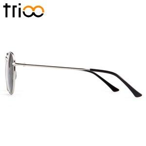 Image 4 - TRIOO  Nearsighted Driver Black Anti Glare Sunglasses Diopter Classic Myopia Glasses Women Retro Style Prescription Eye glasses