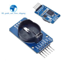 TZT For Arduino DS3231 AT24C32 IIC Module Precision Clock