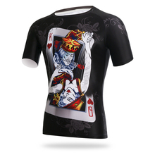 Poke Cycling Clothing Shirt Cycling T Shirts Body Building Clothing Soccer Jersey Men's Running Quick Dry Short Sleeve Jersey