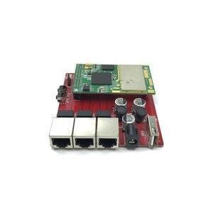 Image 2 - Un mini enrutador inalámbrico de doble banda 5,8G 2,4G router wifi módulo Open WRT ar9344 ateros módulo wi fi núcleo módulo
