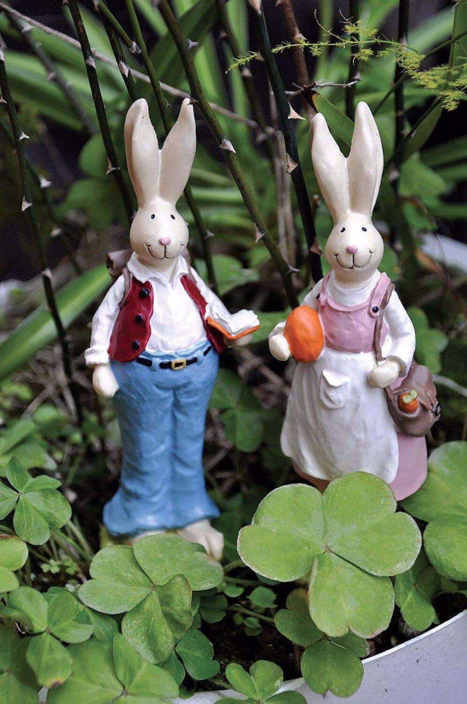 Garden Ornaments 12pcs Miniature Dollhouse Bonsai Craft Garden