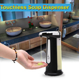 400ML Automatic Handsfree IR Sensor Sensor Liquid Soap Sanitizer Dispenser Touch-free For Kitchen Bathroom Home Hotel ,2015 New