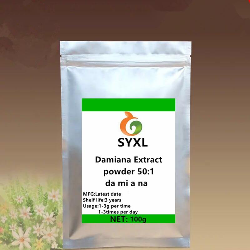 Natural Wild Damiana Extract Turnera Aphrodisiaca Powder 50:1/da Mi A Na/Damiana