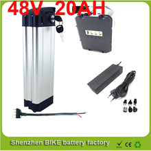 ebike lithium battery 48v 20ah lithium ion bicycle 48v electric scooter battery for electric bike 700w with Bottom discharge