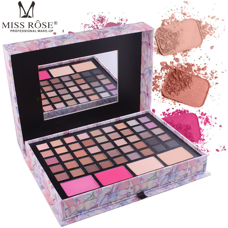 Miss Rose Matte Eye Shadow Brand Contour Palette Concealer Lipstick Maquiagem Complete Full Professional Makeup Kit A172 filorga optim eyes eye contour