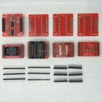 Original Adapters TSOP32 TSOP40 TSOP48 SOP44 SOP56 Adapter Kit For MiniPro TL866A TL866CS Universal Programmer