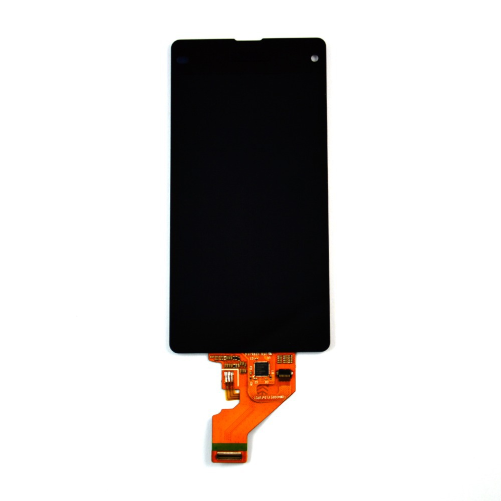 LCD Display + Touch screen digitizer glass assembly For Sony Xperia Z1 Mini Compact D5503 M51W replacement Black free shipping