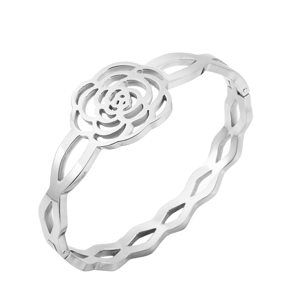CL-98 Wholesale Luxury Men/Women Fashion Bracelet Lover/Couple Crystal Setting Cuff Bracelet Jewelry