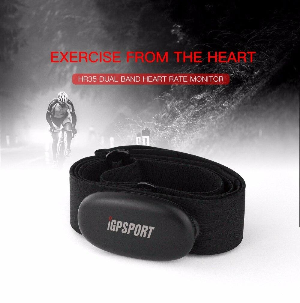 Bluetooth4.0 ANT + Fréquence Cardiaque Capteur Compatible GARMIN Bryton IGPSPORT Ordinateur Exécutant Sport Vélo Moniteur de fréquence Cardiaque Sangle De Poitrine dans Ordinateur à vélo de Sports et loisirs