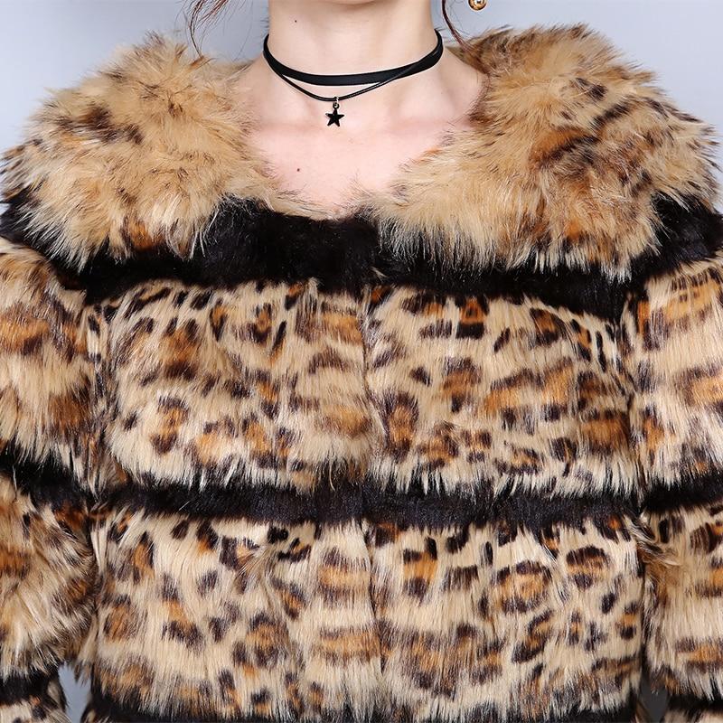 6xl Fluffy Hiver Imprimé Grande De Chaud Renard Taille En Épaissir Faux Nerazzurri Léopard Fausse Vintage 5xl Fourrure Veste Manteau Luxe 7xl znPSqA7wp