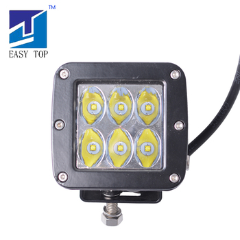 Motorcycle accessory 2'' LED Square Work Light Lamp