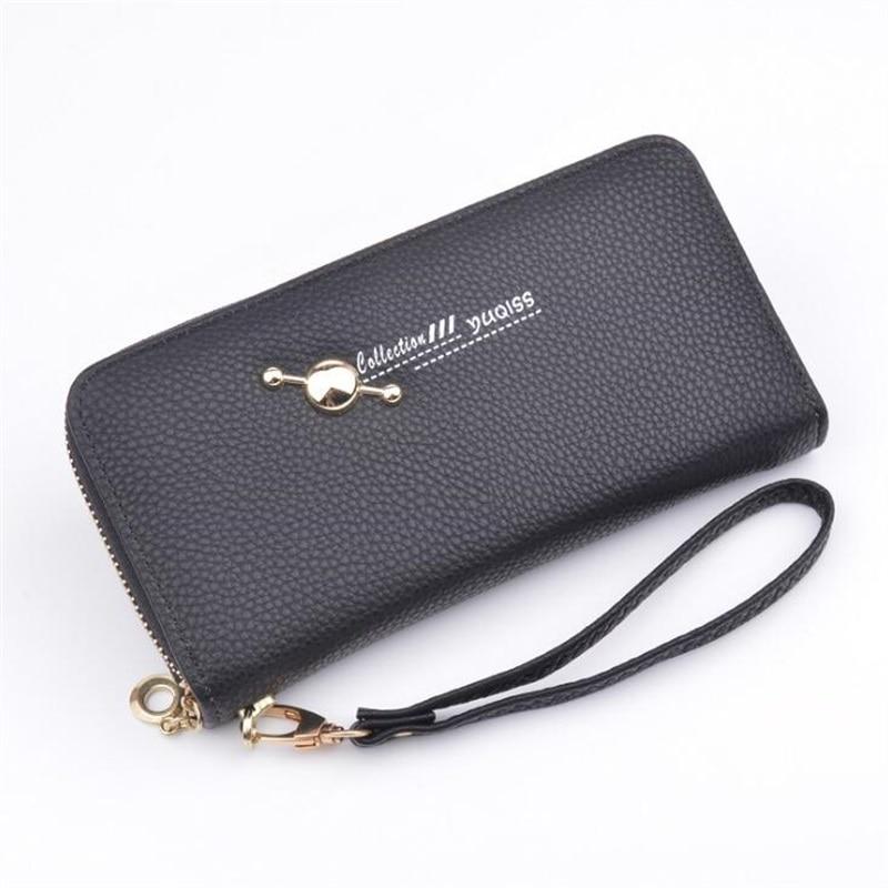 Women Wallets Big Capacity Female Fashion Leather Bags Ladies Clutch ID Card Holders Cell Phone Cash Wallet Woman purses bolsas