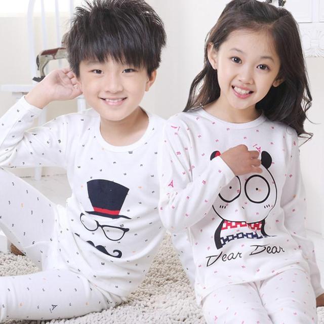 V-TREE ребенка комплект одежды pijamas дети все для детей одежда аксессуары детская одежда мальчики девочки пижамы дети нижнее белье